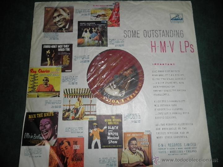 Discos de vinilo: JOHN LEYTON - THE TWO SIDES OF LP - ORIGINAL INGLES - HIS MASTER VOICE RECORDS 1961 MONO - AUTENTICO - Foto 17 - 43319982