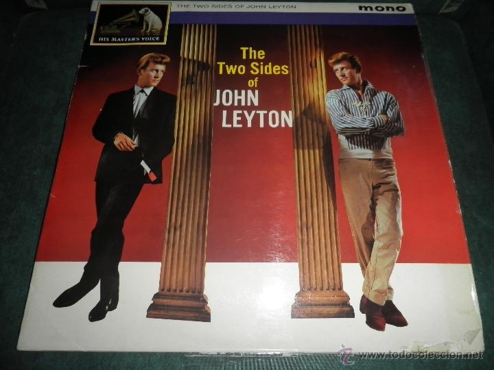 Discos de vinilo: JOHN LEYTON - THE TWO SIDES OF LP - ORIGINAL INGLES - HIS MASTER VOICE RECORDS 1961 MONO - AUTENTICO - Foto 29 - 43319982