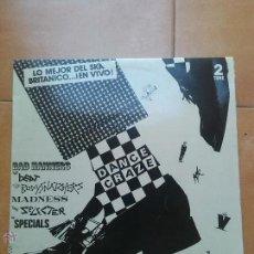 Discos de vinilo: LP DANCE CRAZE LO MEJOR DEL SKA BRITANICO. PROMOCIONAL. INCLUYE POSTER 2 TONE RECORDS 1981. Lote 43329939