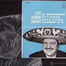 Discos de vinilo: VINILO DISCO JOSE ALFREDO JIMENEZ- EL DESESPERADO, RETIRADA......... Lote 43331101