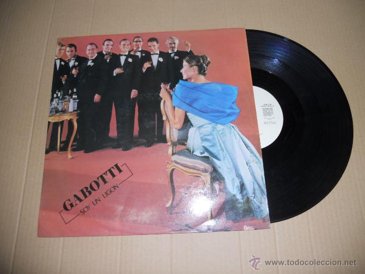 GABOTTI (MAXI) SOY UN LIGON + 3 TRACKS AÑO 1984 - EDICION PROMOCIONAL (Música - Discos de Vinilo - Maxi Singles - Grupos Españoles de los 70 y 80)