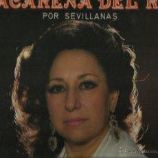 Discos de vinilo: MACARENA DEL RIO MAXI, SINGLE SELLO FONOCRUZ AÑO 1985. Lote 43333279