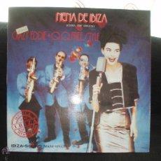 Discos de vinilo: CRAZY EDDIE + Q.Q.FREESTYLE-NENA DE IBIZA. Lote 43337117