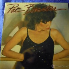 Discos de vinilo: UXV PAT BENATAR CRIMES OF PASSION 1980 LP DISCO PROMOCIONAL HARD ROCK POP HOJA DISCOGRAFICA. Lote 43338511