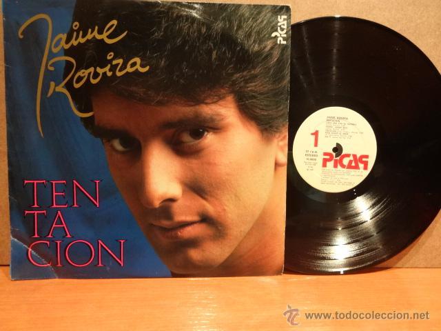 JAIME ROVIRA. TENTACIÓN. LP / PICAP - 1986. MUY BUENA CALIDAD. ***/*** (Música - Discos - LP Vinilo - Solistas Españoles de los 70 a la actualidad)