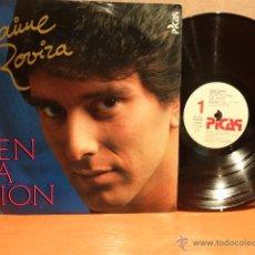 Discos de vinilo: JAIME ROVIRA. TENTACIÓN. LP / PICAP - 1986. MUY BUENA CALIDAD. ***/***. Lote 251822535