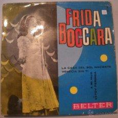 Discos de vinilo: MAGNIFICO SINGLE DE - FRIDA - BOCCARA -. Lote 43343933