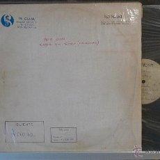 Discos de vinilo: OIGO OFERTAS INCREIBLE ACETATO LP DE MOTOCLUA 1978. SIN MEZCLAS. PIEZA UNICA. PROGRESIVO NACIONAL. Lote 43350201