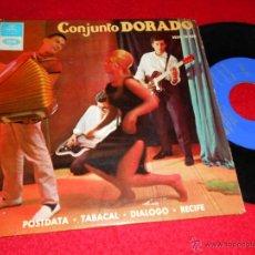 Discos de vinilo: CONJUNTO DORADO POSTDATA/DIALOGO/RECIFE/TABACAL EP 1965 REGAL. Lote 43353213