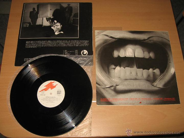 Discos de vinilo: LP DEPOSITO DENTAL -GRABACIONES ACCIDENTALES AÑO 1986 PRODUCIDO POR J. ARTECHE EXPERIMENTAL RARO - Foto 2 - 43353266