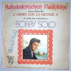 Discos de vinilo: BOBBY SOLO. EP SELLO PHILIPS. DISTRIBUIDOR FONOGRAM. EDICION ESPAÑOLA AÑO 1969. SINGLE MONO.. Lote 43358441