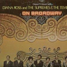 Discos de vinilo: DIANA ROSS AND THE SUPREMES & THE TEMPTAITONS LP PORTADA DOBLE SELLO MOTOWN EDITADO EN USA. Lote 43361819
