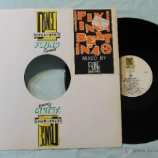 Discos de vinilo: FLYING BEAT 4 VINYL MAXI FLYING RECORDS MADE IN ITALY. Lote 43364900