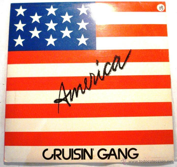 CRISIN GANG - AMERICA (Música - Discos - LP Vinilo - Electrónica, Avantgarde y Experimental)