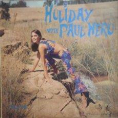 Discos de vinilo: LP PAUL NERO, HOLIDAY WITH PAUL NERO, LP CIRCULO LECTORES, 1968 , COMO NUEVO. Lote 43366519