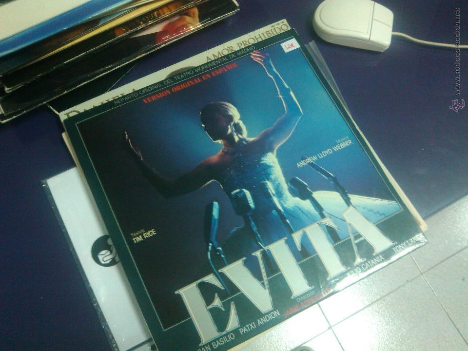 PALOMA SAN BASILIO - EVITA (V.O. EN ESPAÑOL COMPLETA) 2LPS (Música - Discos - LP Vinilo - Bandas Sonoras y Música de Actores )
