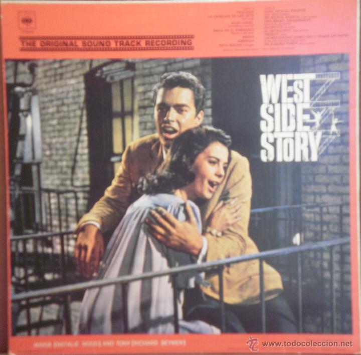 Discos de vinilo: LP WEST SIDE STORY - HISTORIA DE LA MUSICA EN EL CINE - COMO NUEVO - Foto 2 - 43367200
