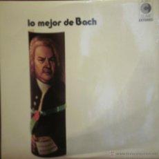 Discos de vinilo: LP LO MEJOR DE BACH. CLAVE 1972. Lote 43367387