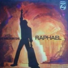 Discos de vinilo: LP ARGENTINO DE RAPHAEL SELLO PHILIPS AÑO 1967. Lote 27565018