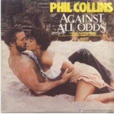 Discos de vinilo: PHIL COLLINS,AGAINST ALL ODDS DEL 84 PROMO. Lote 43369400