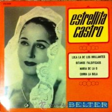 Discos de vinilo: ESTRELLITA CASTRO - EP BELTER, 1968. Lote 43369667