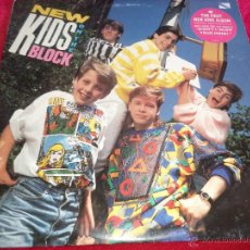 Discos de vinilo: NEW KIDS ON THE BLOCK .- LP-1986 MADE IN UK.-. Lote 43374191