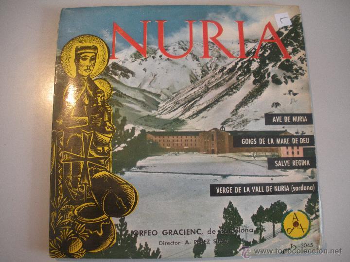 MAGNIFICO SINGLE DE- LA - VALL - DE NURIA - CATALUÑA - (Música - Discos - Singles Vinilo - Bandas Sonoras y Actores)