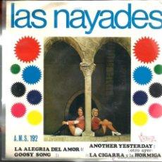 Discos de vinilo: EP LAS NAYADES : LA ALEGRIA DEL AMOR + 3 ( COMPLETAMENTE NUEVO ) . Lote 43377536