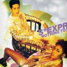 Discos de vinilo: S'EXPRESS / NOTHING TO LOSE (3 VERSIONES) DRO 1990. Lote 43381962