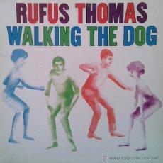 Discos de vinilo: RUFUS THOMAS - WALKING THE DOG (LP) -EDICIÓN JAPONESA-. Lote 43383701