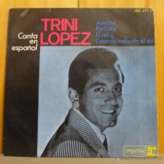 Discos de vinilo: TRINI LOPEZ - CANTA EN ESPAÑOL - EP REPRISE RECORDS - HRE-297-11 - ESPAÑA 1964. Lote 43383848