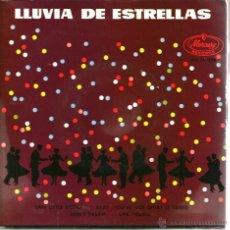 Discos de vinilo: EP LLUVIA DE ESTRELLAS : SARAH VAUGHAM + THE MODERNAIRES + BROOK BENTON & DINA WASHINGTON . Lote 43385335