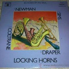 Discos de vinilo: JOHN COLTRANE - JOE NEWMAN - ZOOT SIMS - RAY DRAPPER - LOOKING HORNS - DOBLE LP ECHOES OF AN ERA. Lote 43392442