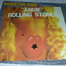 Discos de vinilo: THE ROLLING STONES - ANGIE - SINGLE FRANCES REEDICION 1982. Lote 43392576