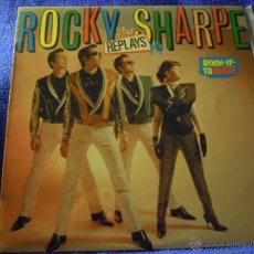 Discos de vinil: UXV ROCKY SHARPE AND THE REPLAYS ROCK IT TO MARS 1980 LP ROCK AND ROCK ROCKABILLY CON ENCARTE . Lote 43392650