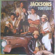 Discos de vinilo: JACKSONS TORTURE // SINGLE / SPAIN / 1984 VG+. Lote 43394443