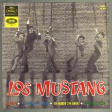 Discos de vinilo: LOS MUSTANG. MI VIDA + 3. EMI 1964. LITERACOMIC.. Lote 158489740