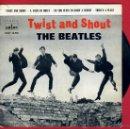 Discos de vinilo: DISCO THE BEATLES , TWIST AND SHOUT , ORIGINAL. Lote 43404575