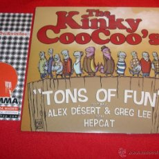 Discos de vinilo: THE KINKY COO COO'S SWEET FUN & READY LIQUIDATOR LP NEW. Lote 43406616