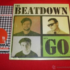 Discos de vinilo: THE BEATDOWN LET'S GO YOU NEVER KNOW SPAIN 2013 EP. Lote 43406853