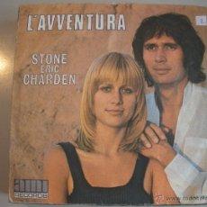 Discos de vinilo: MAGNIFICO SINGLE DE -SATONE - ERIC - CHARDEN -. Lote 43410375