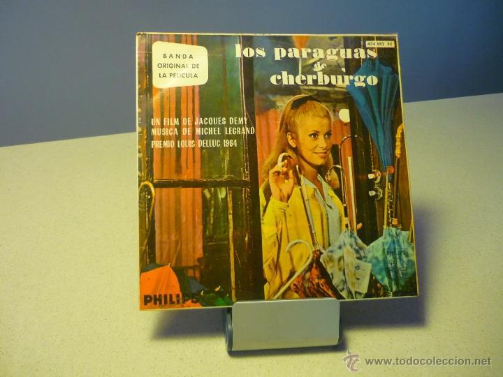 LOS PARAGUAS DE CHERBURGO CATHERINE DENEUVE EP (Música - Discos - Singles Vinilo - Bandas Sonoras y Actores)