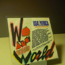 Discos de vinilo: WE ARE THE WORLD USA FOR AFRICA SINGLE. Lote 43414973