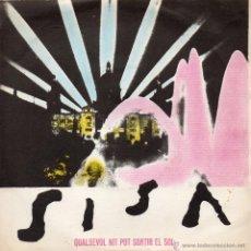 Discos de vinilo: SISA, SG, QUALSEVOL NIT POT SORTIR EL SOL + 1, AÑO 1975. Lote 43415812