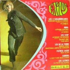 Discos de vinilo: EXITOS- LOS 3 SUDAMERICANOS, MINA, LOS STOP, LOS DE LA TORRE, PATRICK JAQUE.. LP VINILO 1967. Lote 43416416
