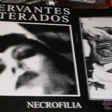 Discos de vinil: CONSERVANTES ADULTERADOS LP NECROFILIA ESPAÑA 2013. Lote 43418216