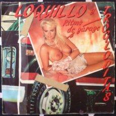 Discos de vinilo: LOQUILLO Y TROGLODITAS, RITMO DE GARAGE SINGLE. Lote 43421622