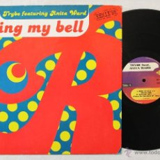 Discos de vinilo: ANITA WARD RING MY BELL TRIBE FEAT. MAXI SINGLE MAX RECORDS. Lote 43428550