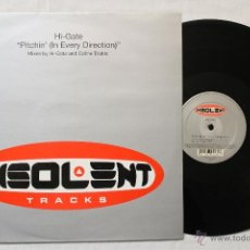 Discos de vinilo: HI-GATE PITCHIN MAXI SINGLE VINYL INSOLENT. Lote 43428584