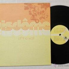 Discos de vinilo: WISDOME OFF THE WALL MAXI VINYL BLANCO Y NEGRO SPAIN 1999. Lote 43428637